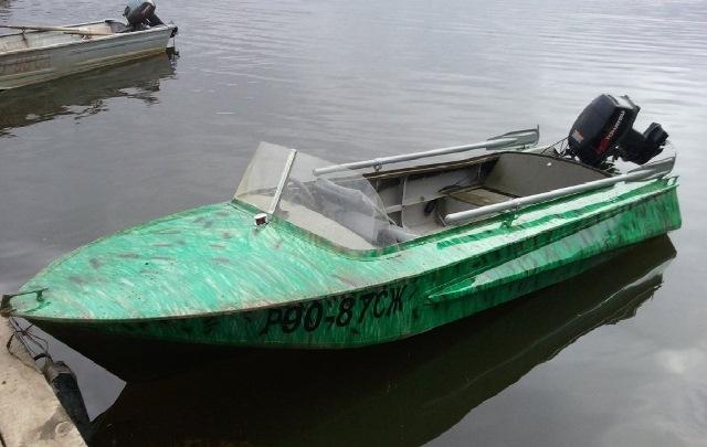 сколько стоит моторная лодка обь