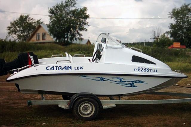 лодка катран люкс